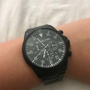 Michael Kors Men's Gage Black Watch MK8414